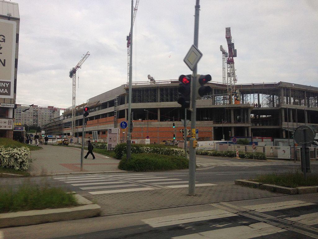Na Chodově roste jedno z největších obchodních center v Evropě