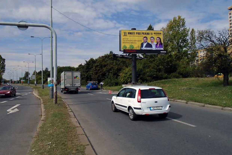 Velká kampaň za 22 tisíc? Vládnoucí hnutí Prahy 11 šetří policie