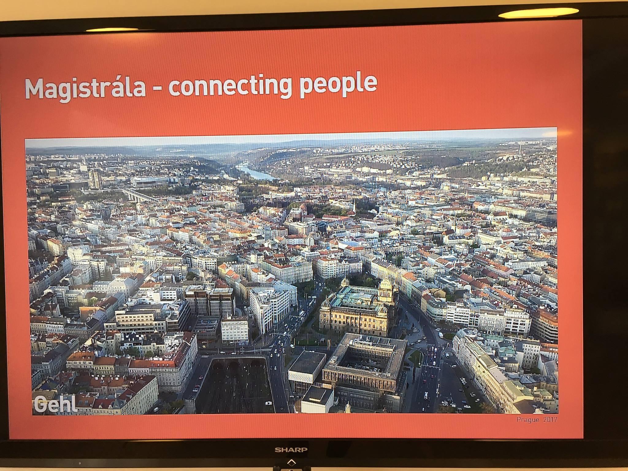 Praha se byla inspirovat v Kodani, projednávala se především pražská magistrála
