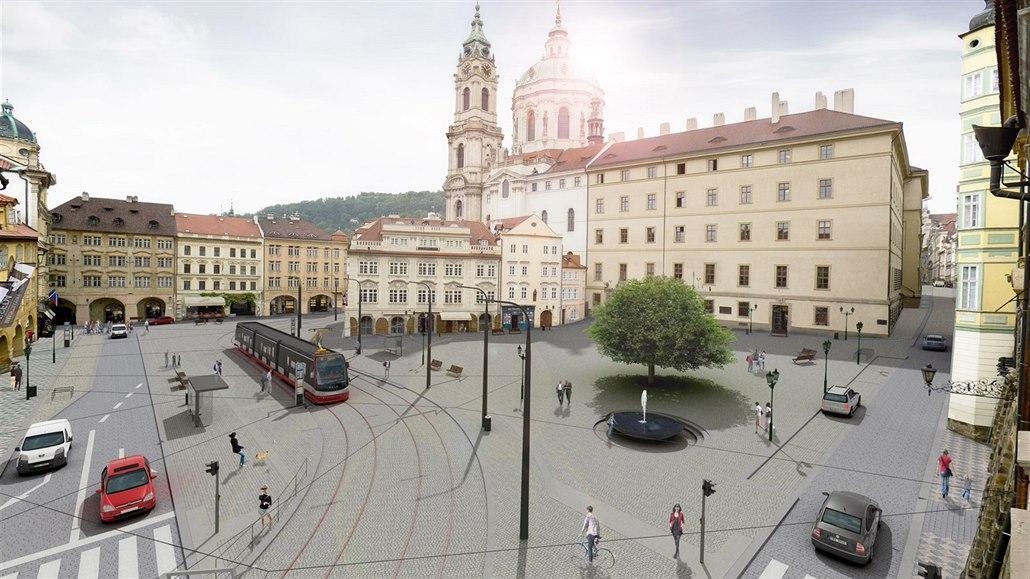 Nová tvář Malostranského náměstí