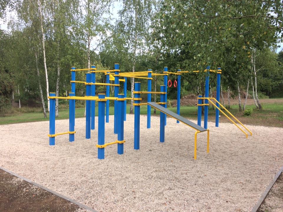 Nové hřiště u Krčského lesa
