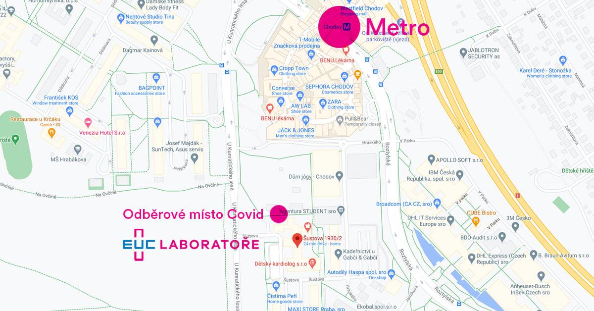 Na naší Praze 11 bylo otevřeno další odběrové místo na testování covid-19!