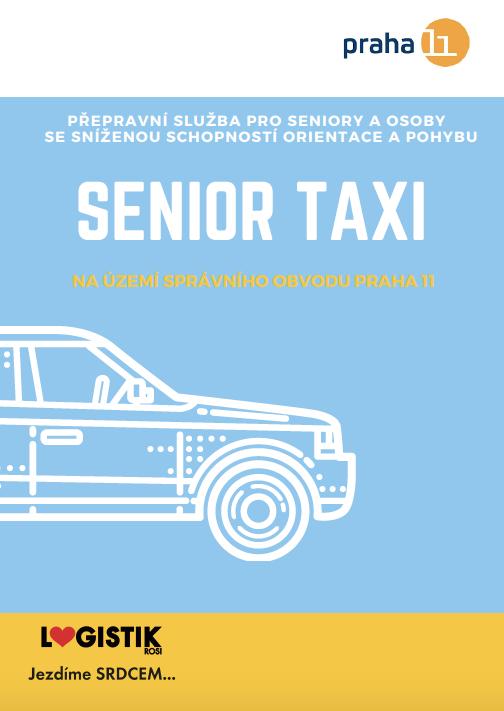 Spouštíme Senior Taxi již 15. března!