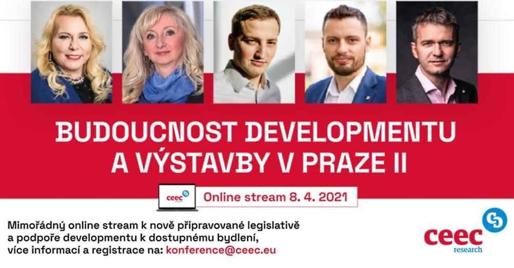 """Záznam konference """"Budoucnost developmentu a výstavby v Praze II"""""""